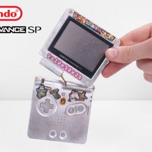I Restored This Destroyed Gameboy Advance SP - Retro Nintendo Console Restoration