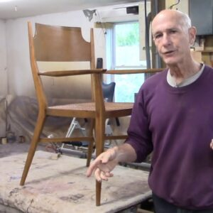Restoring Midcentury Modern Chairs by Paul McCobb - Thomas Johnson Antique Furniture Restoration