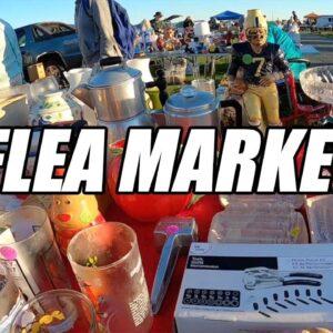 Flea Market Treasure Hunting Buying Bargains - Leesport PA Flea Market