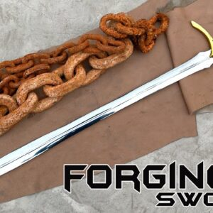 Forging a SWORD out of Rusted Iron CHAIN