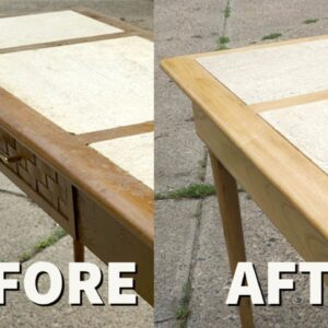 Garage Sale Table Gets A Makeover | Furniture Refinishing And Repair