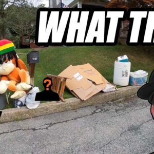 I COULDN'T BELIEVE SOMEONE THREW THIS OUT! Trash Picking EP. 473