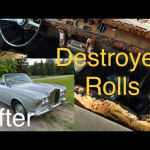 I took a Junkyard Rolls Royce and brought it back to life!