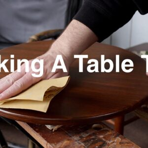 Making A Table Top For A Mid Century Modern Table
