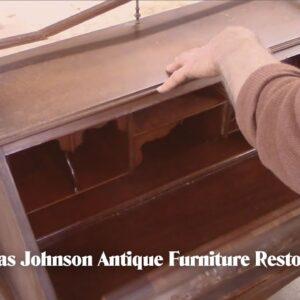 Restoring an Antique Lady's Writing Desk - Thomas Johnson Antique Furniture Restoration