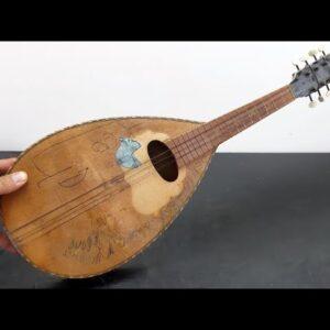 Poor Mandolin - Restoration