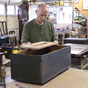 Repairing a Toy Chest - Thomas Johnson Antique Furniture Restoration