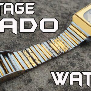 Restoration of 1980's RADO Swiss Watch - Satisfying Restoration