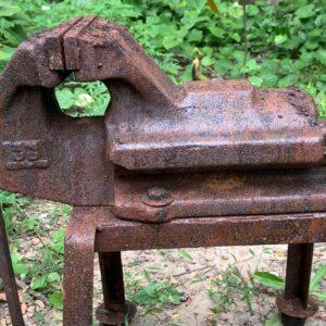 Restoration Old Rusty Bench Vise | Restoring Heavy Table Vise