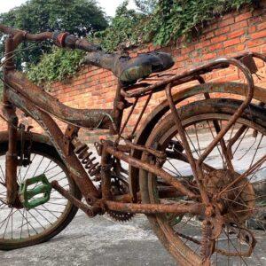 Restoration Old Rusty Kids Bike | Rebuild Children Bicycle