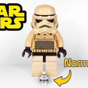 Restoring Giant Lego Stormtrooper  - A Star Wars Restoration