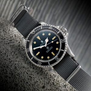 rolex milsub issued to british army diver could fetch tens of thousands