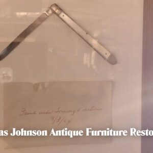 Runs In the Family - Thomas Johnson Antique Furniture Restoration