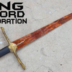 Rusted Long Sword - Satisfying RESTORATION