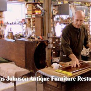 Restoring a Tall Clock Case - Thomas Johnson Antique Furniture Restoration