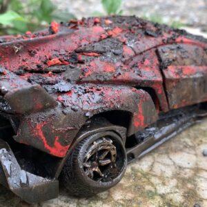 Restoration Old Lamborghini Veneno double horses Toy | Restoring Cars model