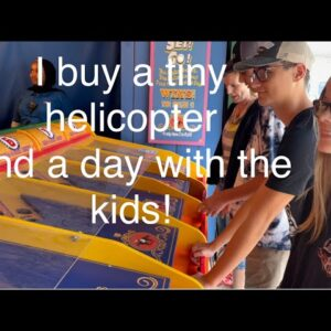 I buy a tiny helicopter, visit Fort Edmonton Park and accidentally scare some kids