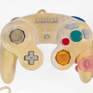 Broken & Yellowed Nintendo GameCube Controller Restoration - Retro Console Repair