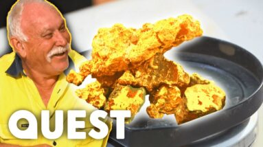 Poseidon Crew Find $35,000 Worth Of Dirty Ironstone Gold In Their First Week! | Aussie Gold Hunters