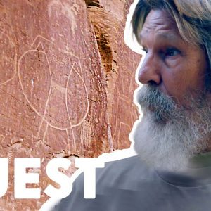 Miners Find Mysterious Ancient Petroglyphs | Mystery At Blind Frog Ranch