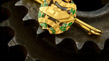 royal tank corps brooch