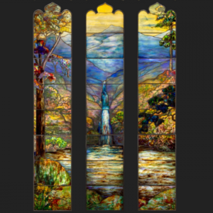the art institute of chicago has a magnificent new tiffany window on permanent display