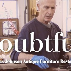 Will This Antique Lady Ever Stand Up Again? - Thomas Johnson Antique Furniture Restoration