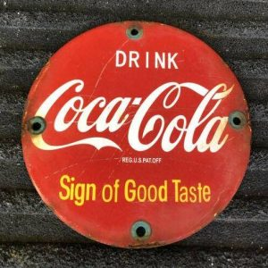 collecting coca cola a sign of good taste