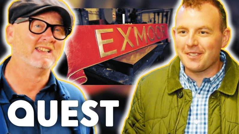 Drew Haggles Hard With West Somerset Railway Chairman | Salvage Hunters