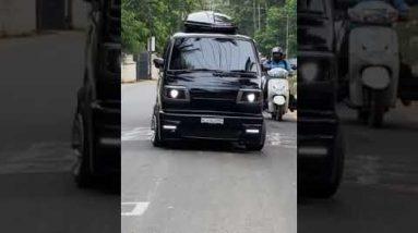 modified all black #car #trending #best #popular #reels #arunpawar #black #modified