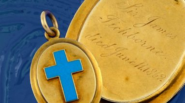 locket linked to famous tichborne case to sell at auction