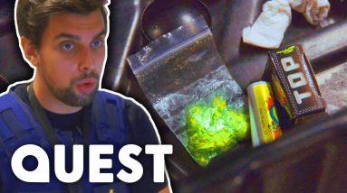 Passenger Risks Prison Over A Bag Of Cannabis | Border Force: Europe